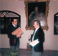 Em seu gabinete de trabalho, o Sr. Manuel da Silva Reis recebeu-me em outubro de 1982