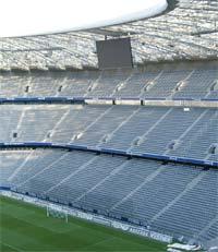 O estádio Allianz Arena em Munique.