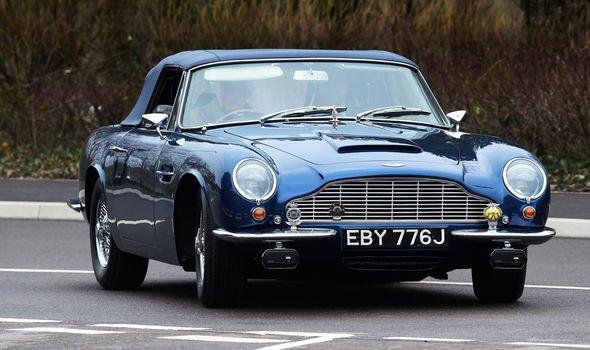 Aston Martin do Príncipe Charles roda com bioetanol feito de vinho e queijo. Crédito Getty Images