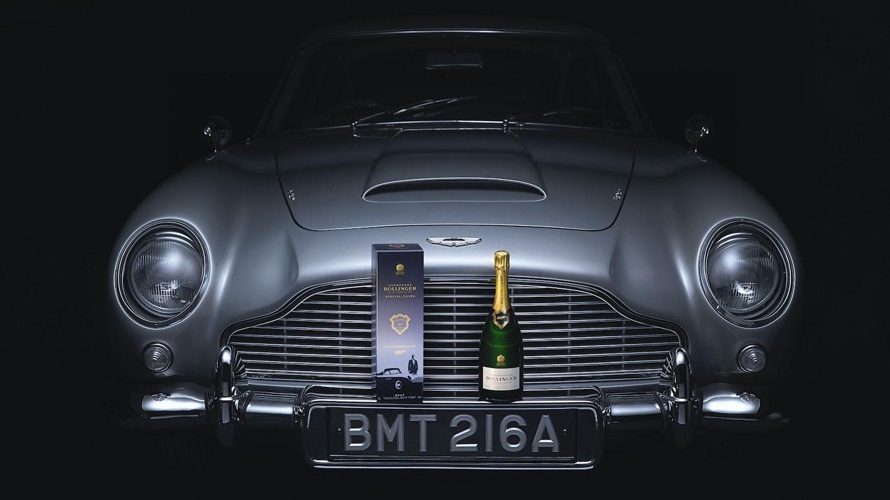 Bollinger Special Cuvée 007 no Lançamento do filme: Bond No Time To Die
