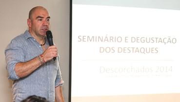 """""""As pessoas que foram ao evento devem ter ficado com uma ideia muito clara do que é o vinho sul-americano"""", afirmou Tapia"""