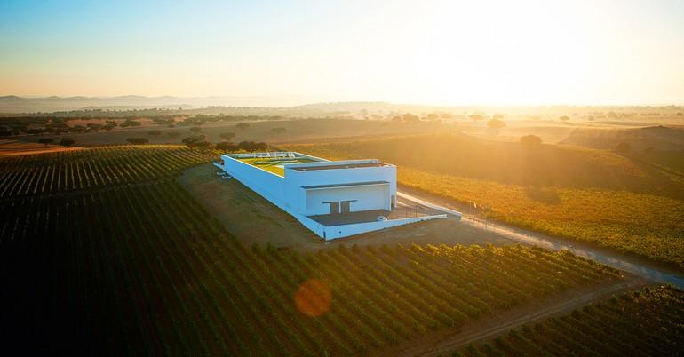 Projeto da Adega Mayor é assinado pelo arquiteto Siza Viera