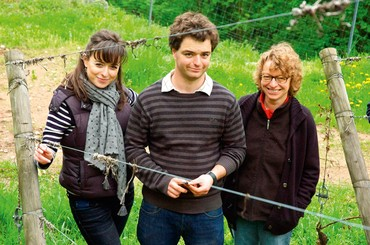 Sophie, Maxime e Geneviève