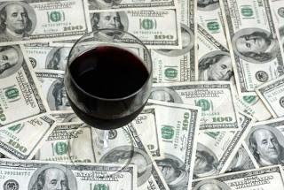 vinho e dinheiro