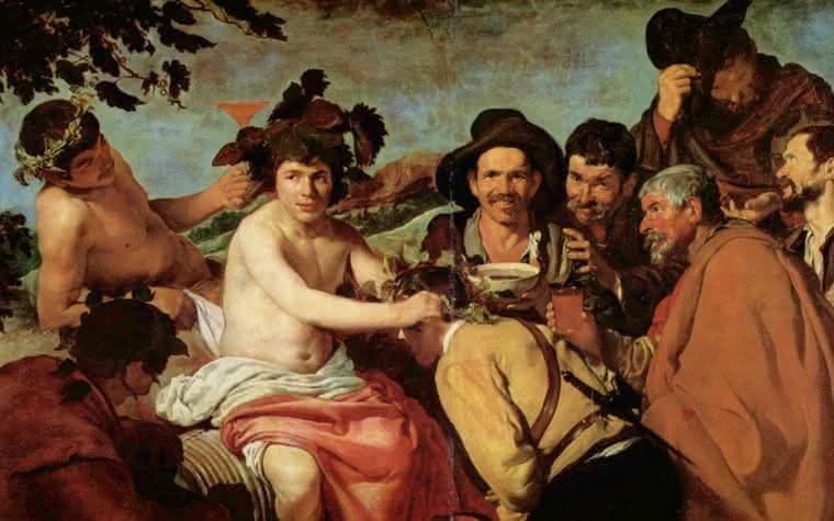 O vinho na história da arte