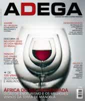 Capa Revista Revista ADEGA 102 - África do Sul desvendada