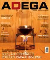 Capa Revista Revista ADEGA 104 - O debate sobre os  vinhos encorpados