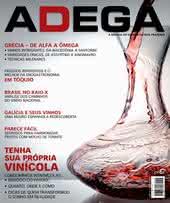 Capa Revista Revista ADEGA 106 - Tenha  sua própria  vinícola
