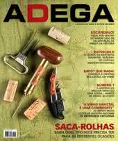 Capa Revista Revista ADEGA 107 - Saca-rolhas