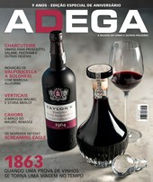 Capa Revista Revista Adega 108 - 1863