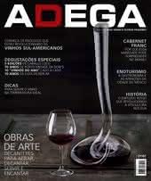 Capa Revista Revista ADEGA 109 - Obras de arte