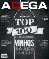 Capa Revista Revista ADEGA 110 - TOP 100
