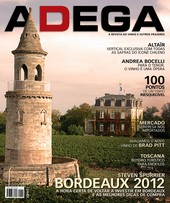 Capa Revista Revista Adega 111 - Bordeaux 2012
