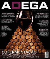 Capa Revista Revista ADEGA 112 - Cofermentação