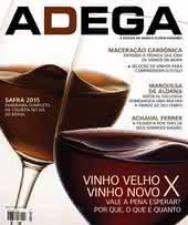 Capa Revista Revista Adega 114 - Vinho velho x Vinho novo