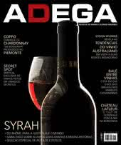 Capa Revista Revista Adega 115 - Syrah