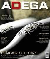 Capa Revista Revista Adega 116 - Châteauneuf-du-Pape