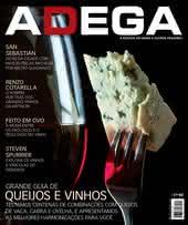 Capa Revista Revista Adega 117 - Grande guia de Queijos e vinhos