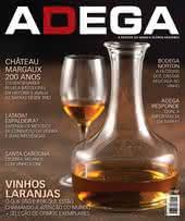 Capa Revista Revista Adega 119 - Vinhos laranjas