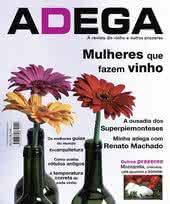 Capa Revista Revista Adega 11 - Mulheres que fazem vinho
