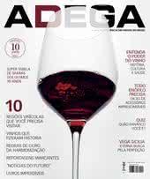 Capa Revista Revista Adega 120 - 10 Regiões vinícolas  que você precisa  visitar