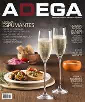 Capa Revista Revista Adega 121 - Especial Espumantes