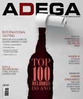 Capa Revista Revista ADEGA 122 - TOP 100 melhores do ano