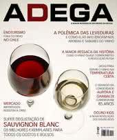 Capa Revista Revista ADEGA 124 - Super degustação de Sauvignon Blanc