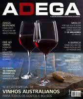 Capa Revista Revista ADEGA 125 - Seleção especial de vinhos Australianos