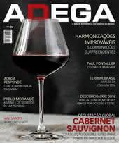 Capa Revista Revista ADEGA 126 - Degustação global Cabernet Sauvignon