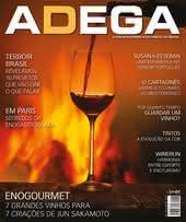 Capa Revista Revista ADEGA 128 - Enogourmet