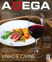 Capa Revista Revista ADEGA 131 - Vinho e Carne