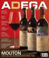 Capa Revista Revista ADEGA 133 - A década dourada de Mouton