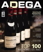 Capa Revista Revista ADEGA 134 - Top 100