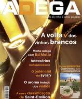 Capa Revista Revista Adega 13 - A volta dos brancos