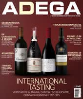 Capa Revista Revista ADEGA 145 - International Tasting