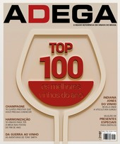 Capa Revista Revista ADEGA 146 - TOP 100
