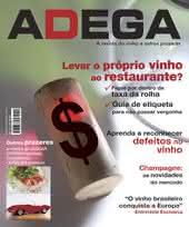Capa Revista Revista Adega 14 - Levar o proprio vinho ao restaurante