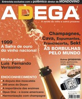 Capa Revista Revista Adega 15 - As borbulhas pelo mundo