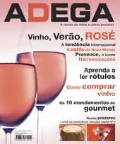 Capa Revista Revista Adega 16 - Vinho, verao, rose
