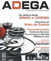 Capa Revista Revista Adega 17 - Vinho e cinema