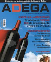 Capa Revista Revista Adega 18 - Super Sul-Americanos