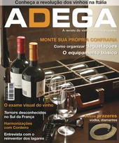 Capa Revista Revista Adega 19 - Monte sua propria confraria