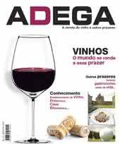 Capa Revista Revista Adega 1 - Vinhos, o mundo se rende a este prazer
