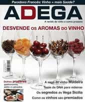 Capa Revista Revista Adega 20 - Desvende os aromas do vinho