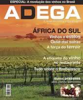 Capa Revista Revista Adega 22 - África do Sul