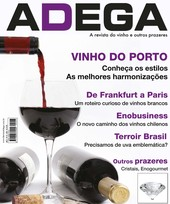 Capa Revista Revista ADEGA 23 - Vinho do Porto