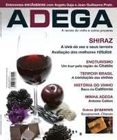 Capa Revista Revista Adega 25 - Shiraz
