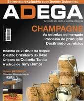 Capa Revista Revista Adega 26 - Champagne