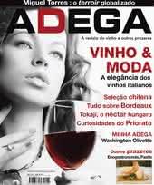 Capa Revista Revista ADEGA 28 - Vinho & Moda